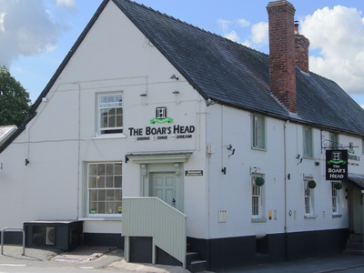 The Boars Head Pub, Shropshire, Bishops Castle