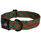 Dublin Dog - Eco Lucks Collar in Yuletide