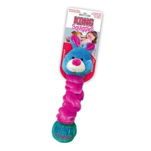 KONG Squiggles Dog Toy - Rabbit