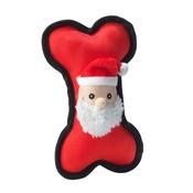 House of Paws - Santa Dog Bone Toy