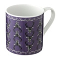 Stag Mug in Purple