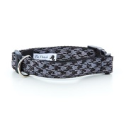 Pet Pooch Boutique - Black Houndstooth Dog Collar