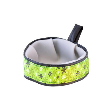 Trail Buddy Pet Travel Bowl – Apple Green Retro