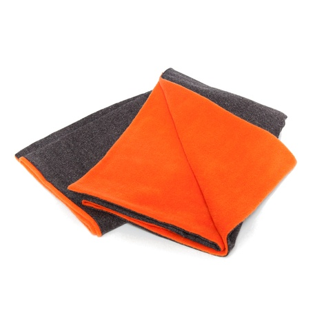 Grey & Orange Pet Blanket