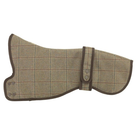 Digby Tweed Greyhound & Whippet Dog Coat