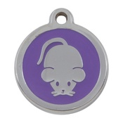 Tagiffany - My Sweetie Lilac Mouse Pet ID Tag
