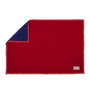 Royal Dog Blanket - Red & Navy