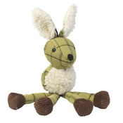 House of Paws - Green Tweed Long Legs Hare Dog Toy