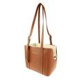 Leather Dog Bag – Brown