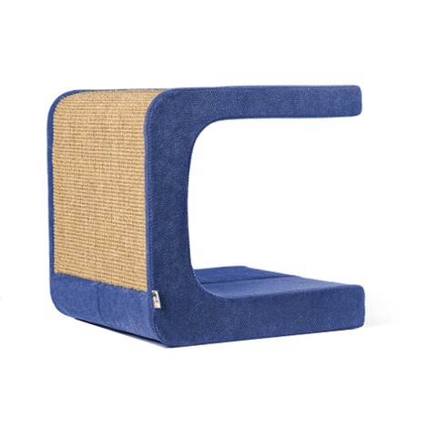 Scratching Post - Letter C - Blue