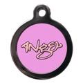 Pink Angel Pet ID Tag 2