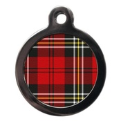PS Pet Tags - Tartan Pet ID Tag