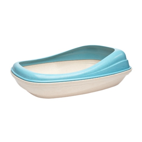 BecoTray Cat Litter Tray - Blue