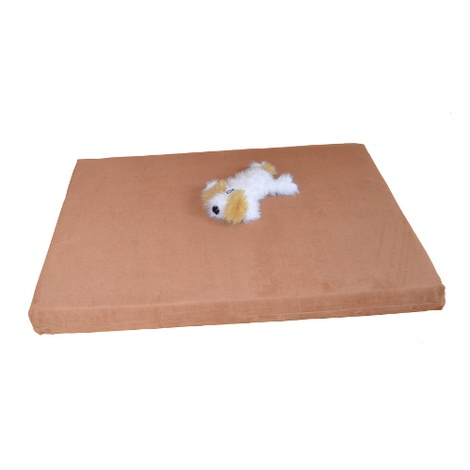 Foam Dog Bed - Ginger  2