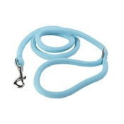 Yellow Dog - Braided Dog Lead – Baby Blue