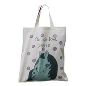 Laura Lee Designs - Ponies Shopper Bag
