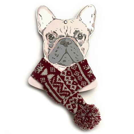Snowflake Dog Scarf  6