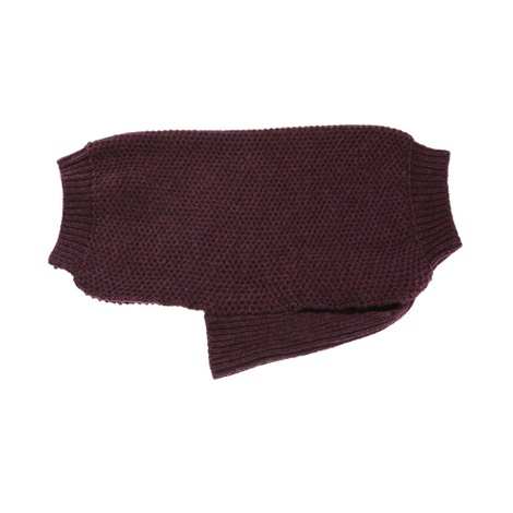 Strachey Wool Jumper - Grape