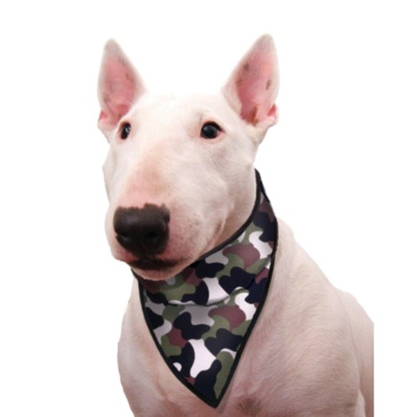 Dog Cooling Bandana in Camouflage