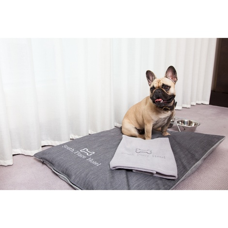 Personalised Pet Fleece Blanket – Navy 3