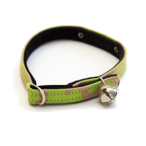 Neon Leopard Cat Collar