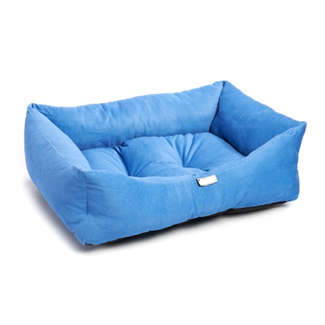 Wedgewood Electric Blue Dog Bed