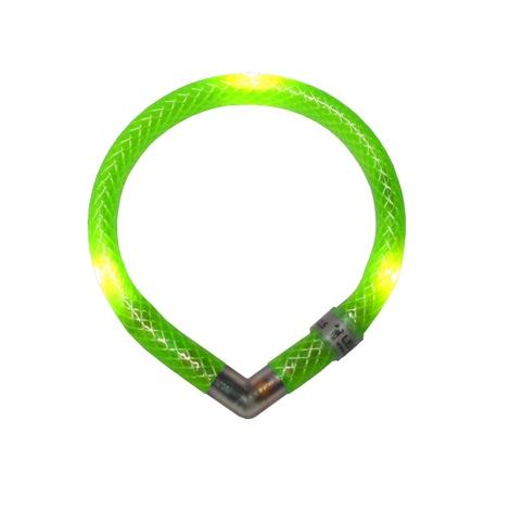 Leuchtie Mini LED Collar - Neon Green