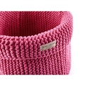 Cotton Toy Basket - Pink 2