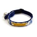 Blue Geo Cat Collar 2