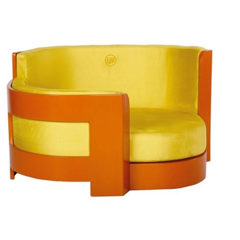 Amber Bauhaus Dog Sofa 2
