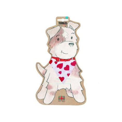Toggles Dog Bandana - Valentine