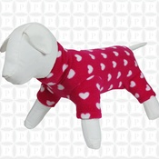 Pawberry - Dog Onesie by Pawberry - Pink