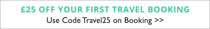 SPLASH -£25 off your first Travel Booking