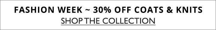 SPLASH - 30% off coats & knits